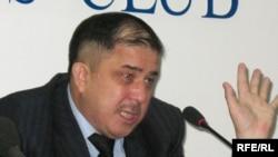 «Наройл» қаржы-өнеркәсіп тобының президенті Сұлтан Үшбаев. Алматы,15 қазан, 2008 жыл