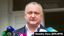 Moldova prezidenti Igor Dodon