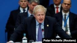 Boris Džonson na Samitu NATO u Londonu
