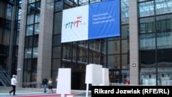 Tomasz Rygalik's display in Brussels
