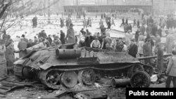 Угорська революція, 1956 рік