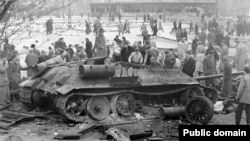 Thousands died during the anti-Soviet revolt in Hungary in 1956.
