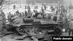 Восстание в Венгрии в 1956 году.