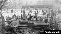 Будапешт, 1956 рік