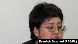 Оппозиционный политик Зауреш Батталова.