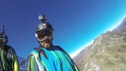 Basejumper Alex Misiuk on his experience as B.A.S.E. jumping or wingsuit flying 2