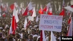 Пратэсты ў сталіцы Бахрэйну Манаме, 22 лютага