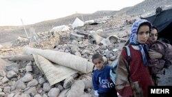 Иран, земјотрес