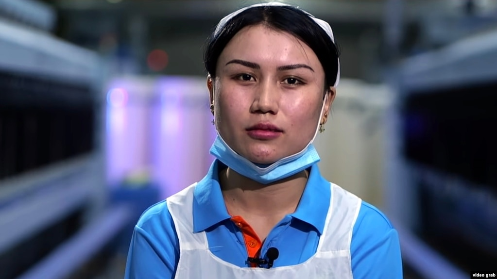 In the Chinese documentary, Zileyhan Eysa moves from a rural county to get a job in the relatively affluent northern part of Xinjiang.