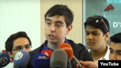 Ҳайдар Алиев, писари Илҳом Алиев