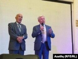 Ренат Харис (у) белән Равил Фәйзуллин