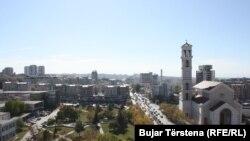 """Katerdralja """"Nënë Tereza"""" në Prishtinë."""