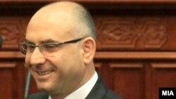 Министерот за внатрешни работи Митко Чавков