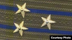 Belarus - KGB colonel shoulder straps