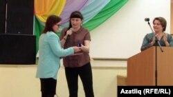 Ижаудан Надежда Степанова (с) уңышлы проект авторы буларак бүләкләнде