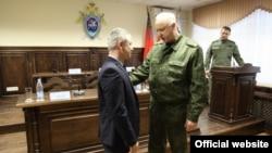 Фарзон Салимов бо Александр Бастрикин