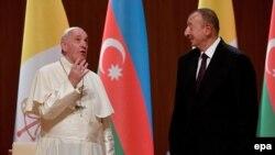 Roma Papası və İlham Əliyev
