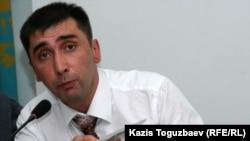 Правозащитник Вадим Курамшин. Алматы, 13 сентября 2010 года.