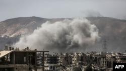 Бои в Дамаске, 19 марта