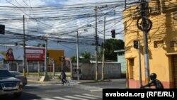 «Электрычнае» неба Сан-Пэдра-Сулы