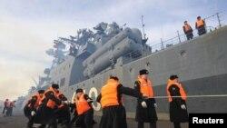 """Противолодочный корабль """"Адмирал Чабаненко"""""""