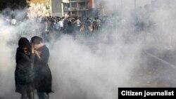 استفاده از گاز اشکآور در اعتراضهای خرداد ۸۸ در تهران