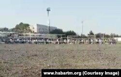 "Стадион ""Дагдан"" в Ашхабаде"