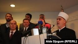 Husein ef. Kavazović za govornicom