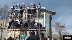 تصویری از تبلیغات انتخابات مجلس در یاسوج