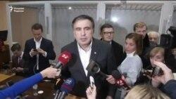 Киев суди Саакашвилини ҳибсдан озод қилди