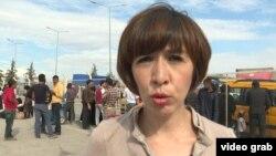 Репортер телевизионного проекта Радио Свобода Current Time Шахида Якуб, которая в настоящее время находится в Турции, на границе с Сирией