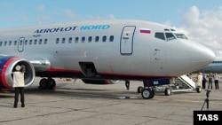 Самолет российской авиакомпании «Аэрофлот». Иллюстративное фото.