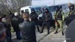 В Советском районе задержали мужа учительницы крымскотатарского языка (видео)
