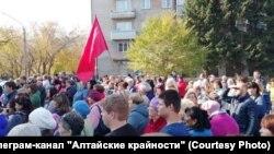 Митинг в Новоалтайске
