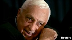 Ariel Sharon in a 2005 photo