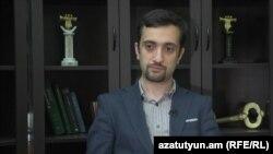 Armenia - Daniel Ioannisian, a civic activist, 16June, 2016