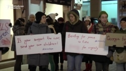 Georgians Show Support For Victims Of Aleppo