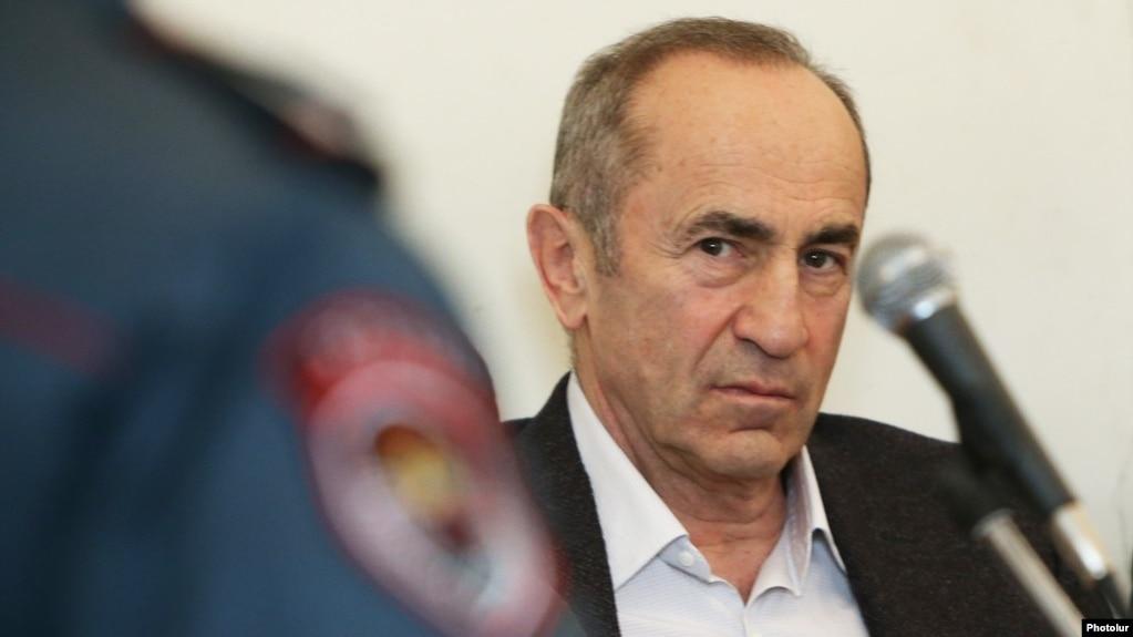 Kocharian 4.2 milyon dollara zaminə buraxılıb VİDEO