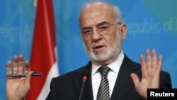 Министр иностранных дел Ирака Ибрагим аль-Джафари.