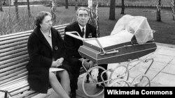 Leonid Brejnev arvadı Viktoriya Petrovna - 1970