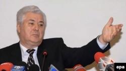 Moldovan President Vladimir Voronin