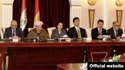 من إجتماعات اللجنة التحضيرية لعقد المؤتمر القومي الكردي في أربيل