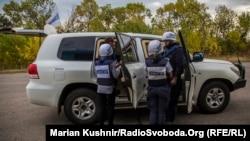 Спостерігачі місії ОБСЄ на Донбасі