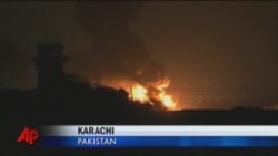 Нападение талибов на военную базу в Пакистане