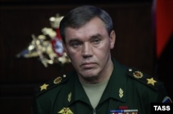 General Valery Gerasimov, chief of the Russian armed forces (file photo)