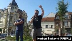 Marko Trifunović (desno)