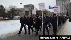 Protestul primarilor la Chișinău