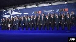 НАТО саммити. Варшава. 8-июль, 2016