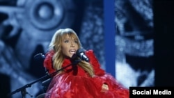 Певица Юлия Самойлова, выдвинутая Россией в качестве участницы Евровидения, которой отказали во въезде в Украину.