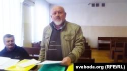 Сяргей Гоўша ў Берасьцейскім абласным судзе.